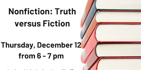 Nonfiction: Truth Versus Fiction Workshop @ Eastport-Annapolis Neck Library tickets