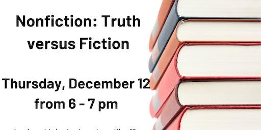 Nonfiction: Truth Versus Fiction Workshop @ Eastport-Annapolis Neck Library