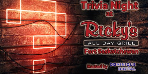 Trivia Night at Ricki's