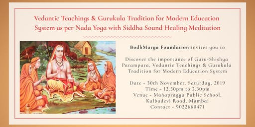 Vedic & Gurukula Tradition for Modern Education System with Advait Danke