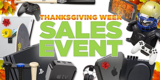 Thanksgiving Week Sales Event