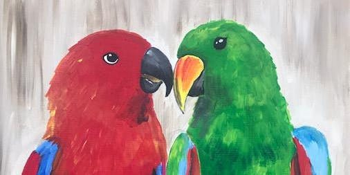 Paint and Sip - Fundraiser for Free Flight Exotic Bird Sanctuary!
