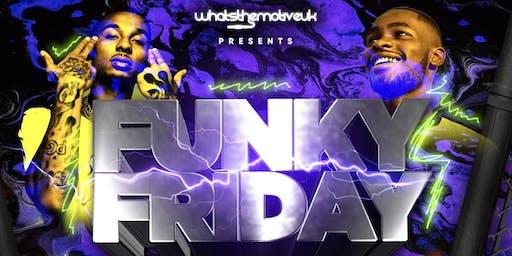 Funky Friday - Hip-Hop, RnB & Bashment
