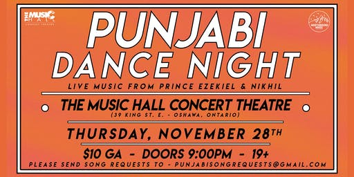 Punjabi Dance Night at the Music Hall - Nov 28