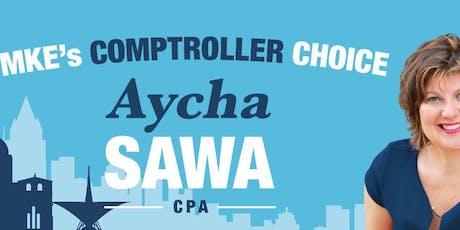 Aycha Sawa For Milwaukee City Comptroller tickets