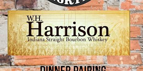 21 North & W. H. Harrison Bourbon Pairing & Bottle Signing tickets