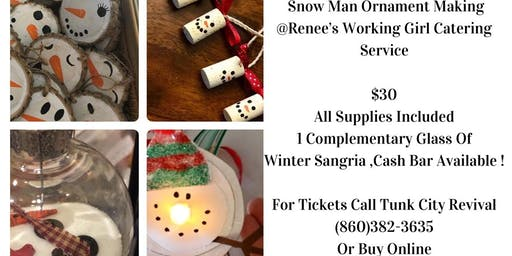 Snowman Ornament Bash