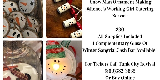 Snowman Ornament Bash