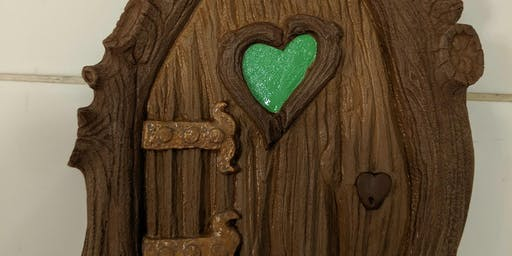 Paint a Hanes Haus Designs Original Fairy Door DIY Workshop