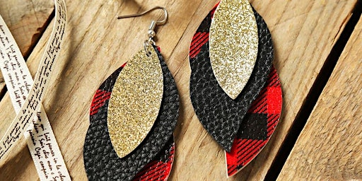 DIY Faux Leather Earring Workshop