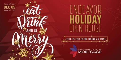 Endeavor Capital Mortgage Holiday Happy Hour 2019