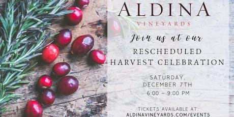 Aldina Vineyards Rescheduled Harvest Celebration tickets