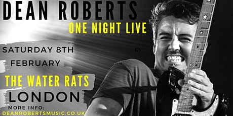 Dean Roberts: One Night Live tickets