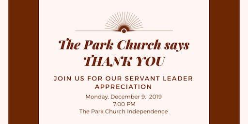 Servant Leader Appreciation 2019