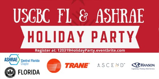 USGBC Central FL & ASHRAE Holiday Party