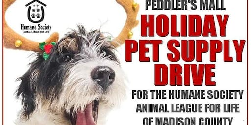 Holiday Open House + Pet Supply Drive