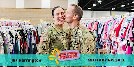 Military Presale Pass| March 5th | JBF Harrington Spring 2020 | Mega Children's Sale event tickets