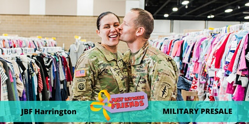 Military Presale Pass| March 5th | JBF Harrington Spring 2020 | Mega Children's Sale event