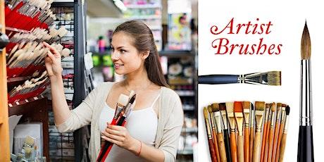 Picking the Right Brush • Artist Seminar with Doug Swinton tickets