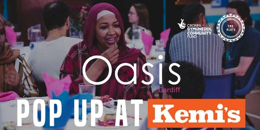 Oasis Cardiff Pop Up at Kemi's