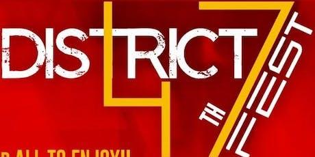 DISTRICT 47 FEST tickets