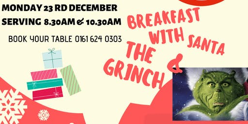 Breakfast with Santa & The Grinch
