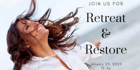 Retreat & Restore - Reset for 2020 tickets