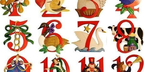 12 Days of Christmas Class tickets