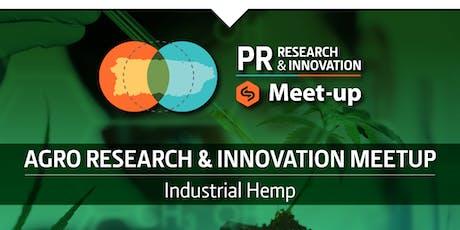 Industrial Hemp - Research & Innovation Meet-up tickets
