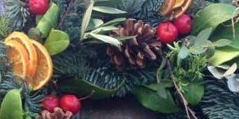 Christmas Door Wreath Workshop Mere Green