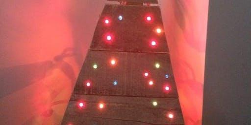 Pallet Christmas Tree Decorating Class