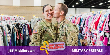 Military Presale pass | April 1st | JBF Middletown Spring 2020 | Mega Children's Sale event  tickets
