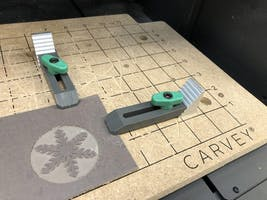 Christmas Ornaments on the Carvey CNC Router