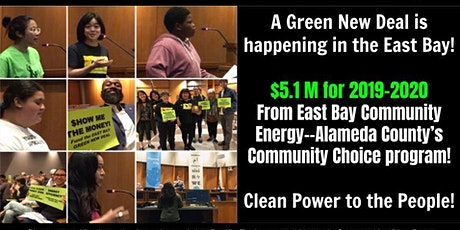 East Bay Green New Deal tickets