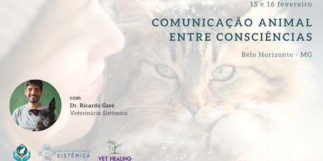 Inscrição - Curso Inicial Comunicação Animal (15 e 16 de fevereiro - Belo Horizonte) ingressos