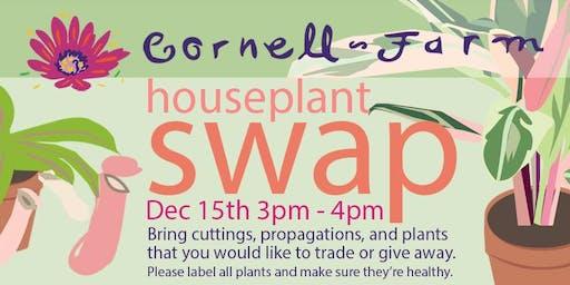 December Houseplant Swap at Cornell Farm