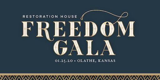 Restoration House Freedom Gala