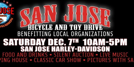 Red & White Toy Drive at San Jose H-D! tickets