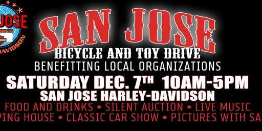Red & White Toy Drive at San Jose H-D!