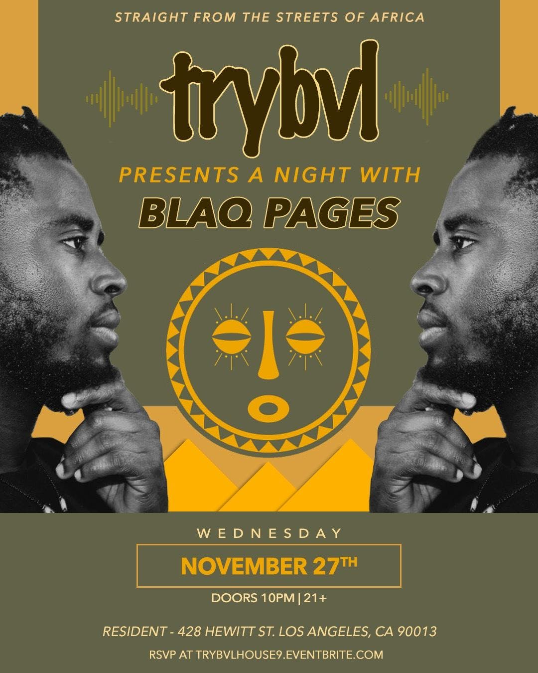 TRYBVL - Dance Africa (A Night with BLAQ PAGES)