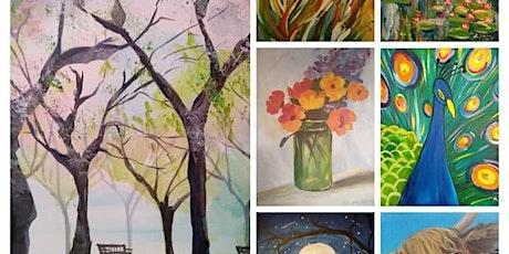 Instant Masterpiece Painting Evening  - Saturday, Salisbury  tickets