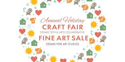 Cedars Holiday Craft Fairs (2 Locations 2 Days!)