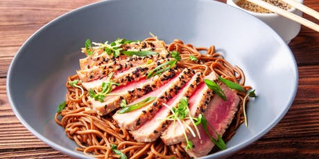 Regional Inspiration: Miso Glazed Tuna with Ginger Sesame Soba Noodles tickets