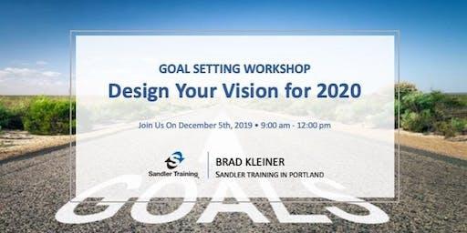 Design Your Vision for 2020 Workshop!