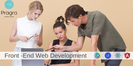 Front End Web Development Program - UX/UI Designer Track - New Batch