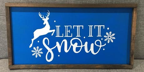 Seasonal Rustic Sign-Making Workshop tickets