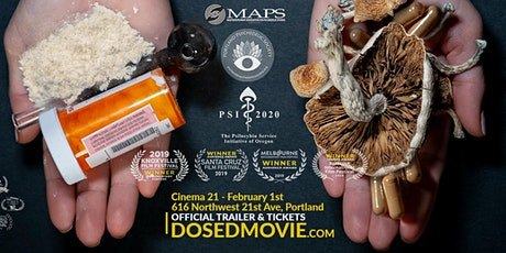 DOSED Documentary + Q&A ***New Showtimes Added*** (Feb 1 is SOLD OUT) tickets