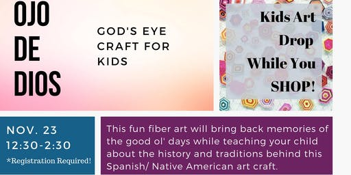 Fiber Art Class-Weaving God's Eye