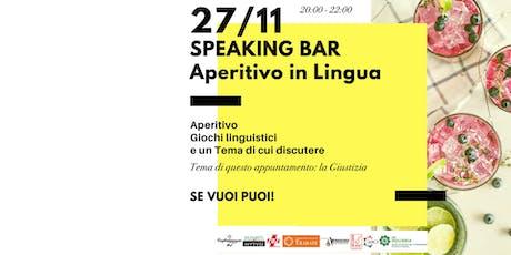 Speaking Bar - l'aperitivo linguistico di Officina C@ffè biglietti