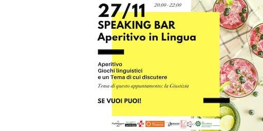Speaking Bar - l'aperitivo linguistico di Officina C@ffè